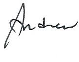 ANDREW sig